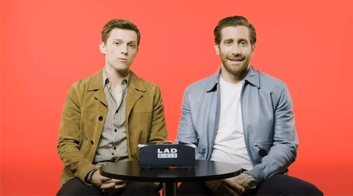 Tom Holland y Jake Gyllenhaal