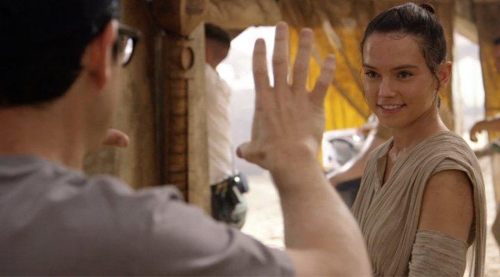 Daisy Ridley en 'Star Wars: El Despertar de la Fuerza'