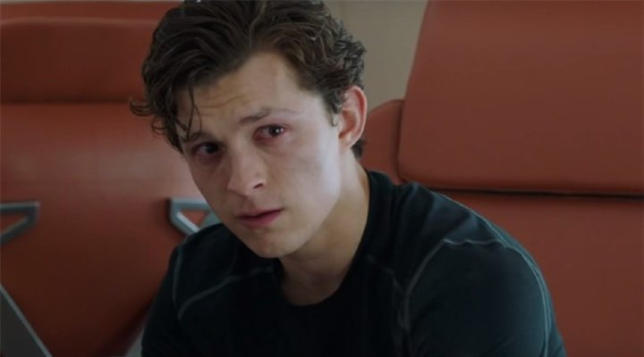 Tom Holland en 'Spider-Man: Lejos de Casa'