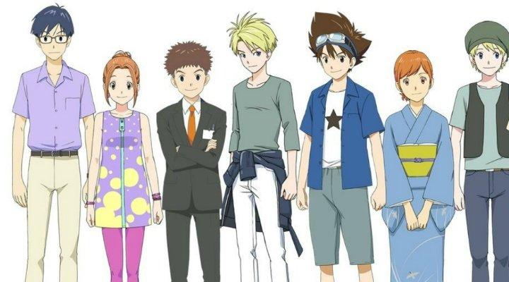 Nuevo diseño de los personajes de 'Digimon'