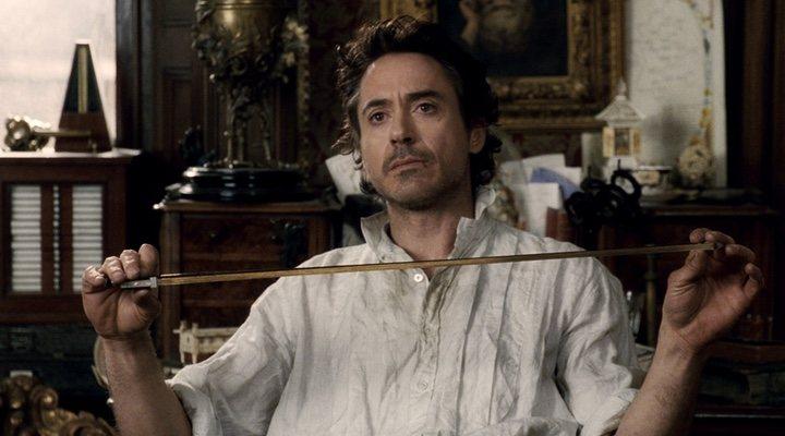Robert Downey Jr. en 'Sherlock Holmes'