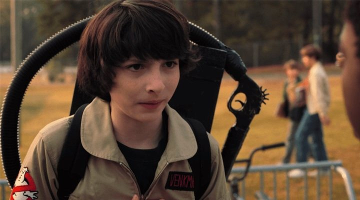 Finn Wolfhard en 'Stranger Things'