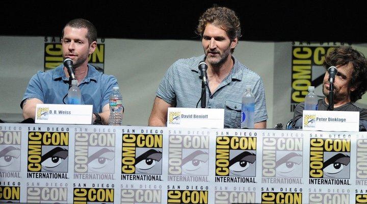 David Benioff y D.B. Weiss en la Comic Con de San Diego
