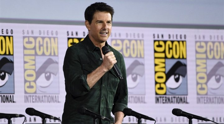 Tom Cruise en la Comic Con de San Diego 2019