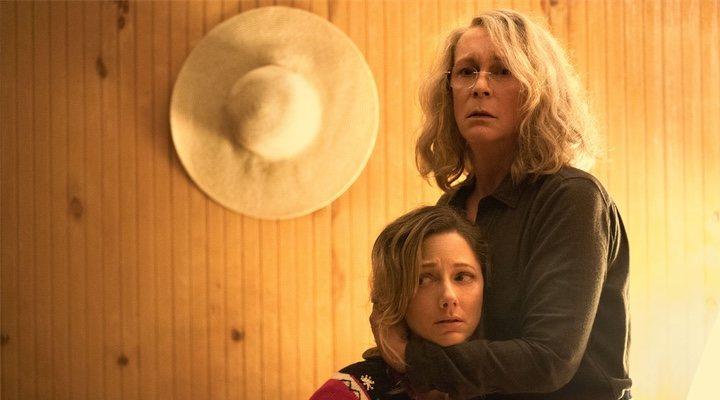 Jamie Lee Curtis y Judy Greer en 'La Noche de Halloween'