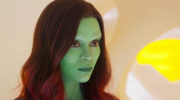 Gamora en 'Vengadores:Endgame'