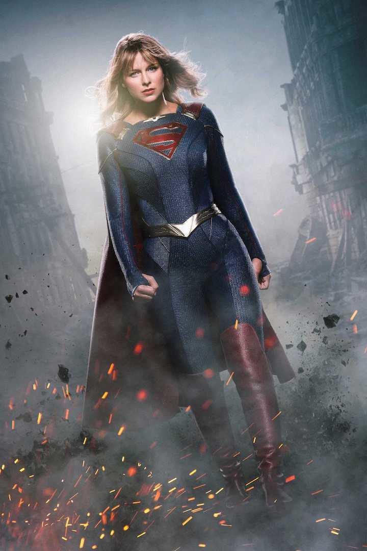 El nuevo look de Supergirl