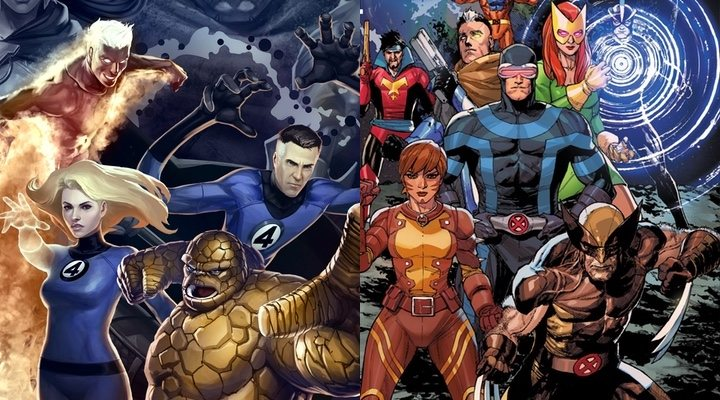 'Los Cuatro Fantásticos y 'X-Men'