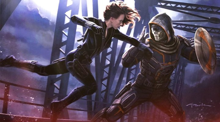 Natasha Romanoff y Taskmaster en 'Black Widow'