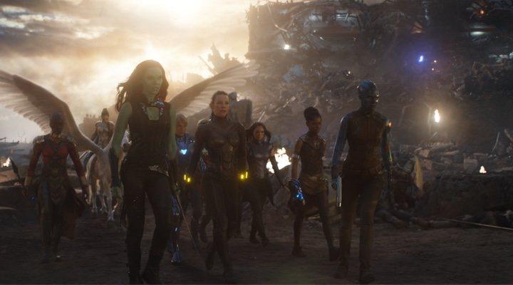 Gamora en 'Vengadores: Endgame'