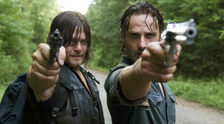 Daryl y Rick en 'The Walking Dead'