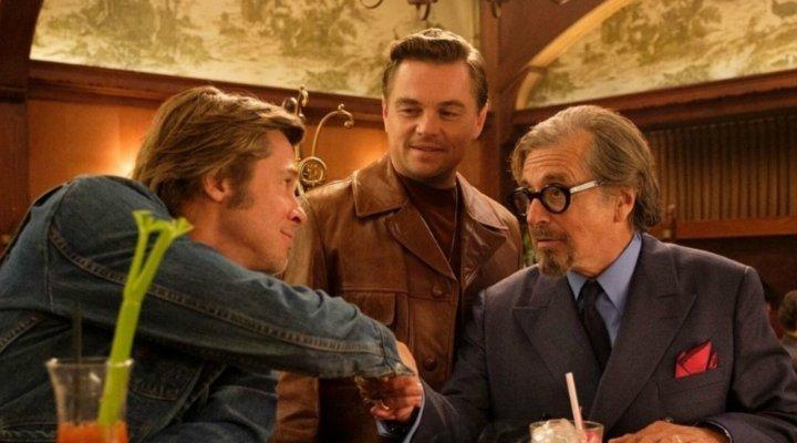 Pitt, DiCaprio y Al Pacino en 'Érase una vez en... Hollywood'