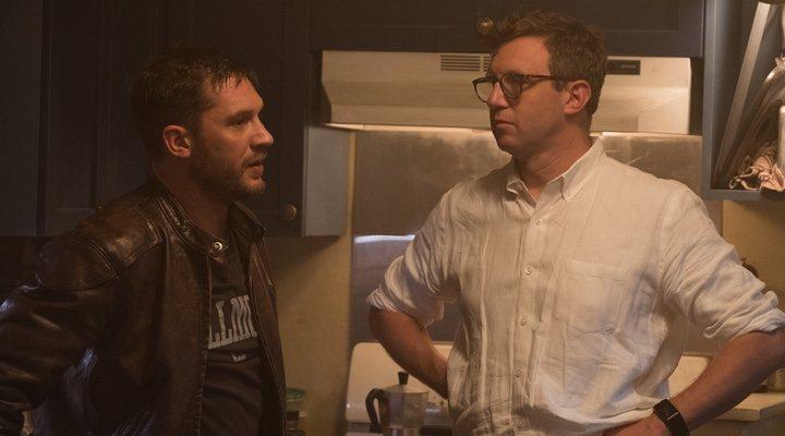 Tom Hardy y Ruben Fleischer en 'Venom'
