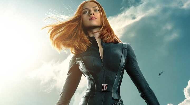 Scarlett Johansson como la Black Widow