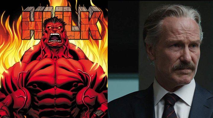 Red Hulk y William Hurt