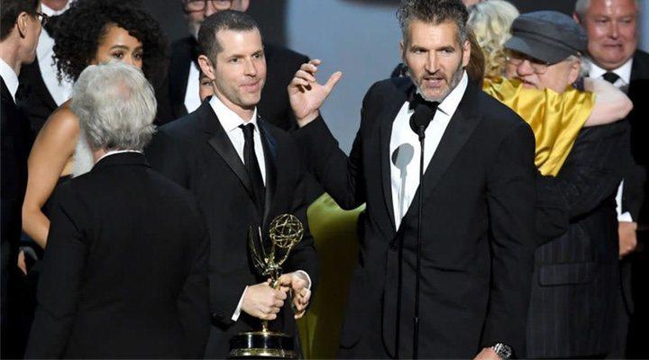 David Benioff y D.B. Weiss en los Emmy