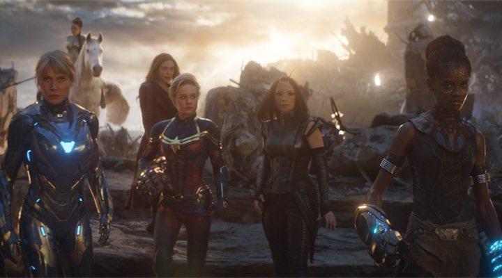 Brie Larson en 'Vengadores: Endgame'