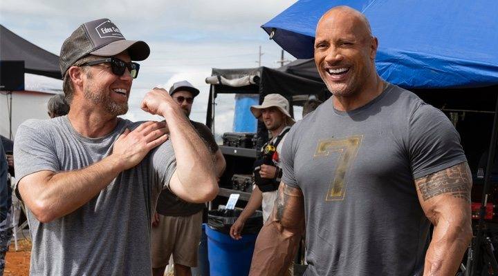 David Leitch y Dwayne Johnson