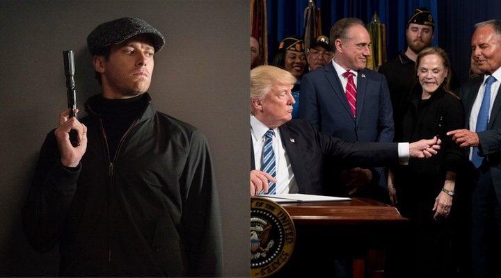 Armie Hammer, Donald Trump e Isaac Perlmutter