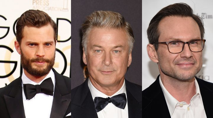 Jamie Dornan, Alec Baldwin, Christian Slater