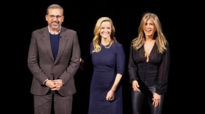 Jennifer Aniston, Reese Witherspoonm Steve Carell