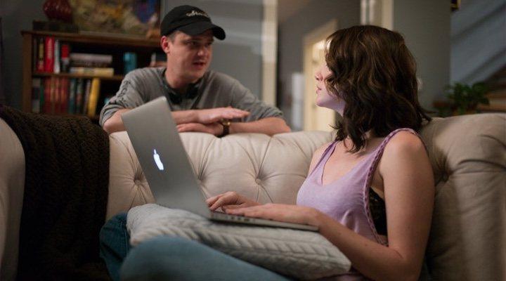 Mike Flanagan y Kate Siegel en 'Hush'