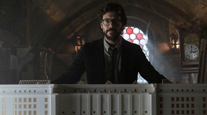 Álvaro Morte en 'La casa de papel'