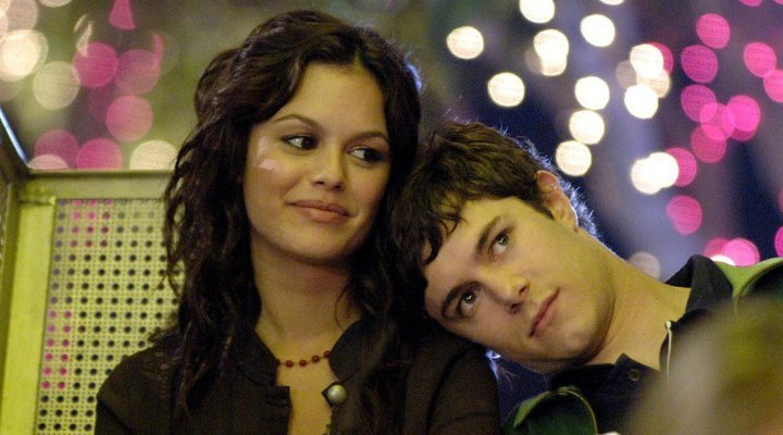 Rachel Bilson y Adam Brody en 'The OC'