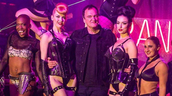 Quentin Tarantino en el cabaret Tarantinia