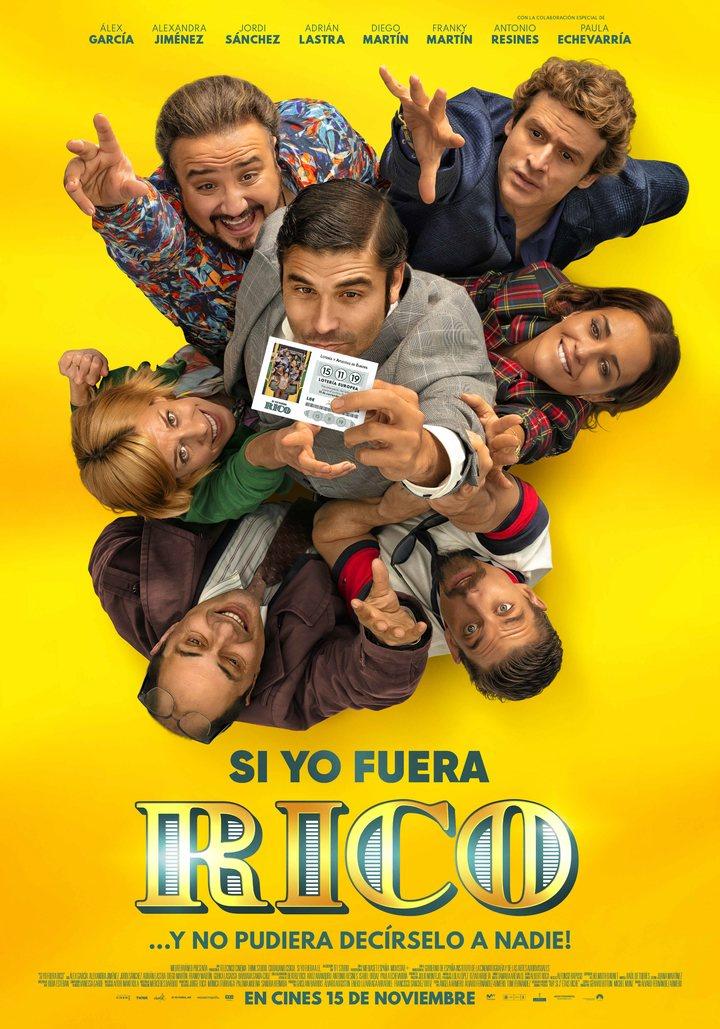 'Si yo fuera rico': póster y nuevas imágenes de la comedia de Álvaro Fernández-Armero