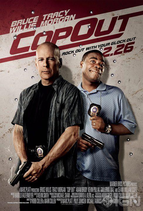 Primer cartel oficial de 'Cop Out'