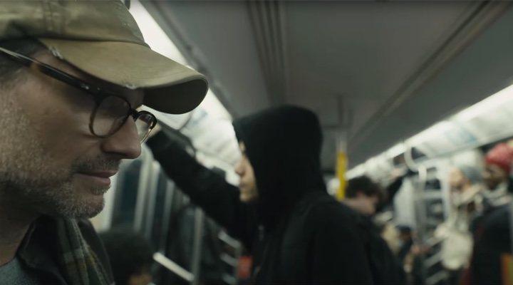 Christian Slater y Rami Malek en 'Mr. Robot'