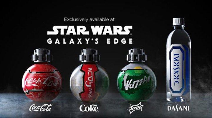Diseño de Coca-Cola exclusivo de Star Wars: Galaxy's Edge