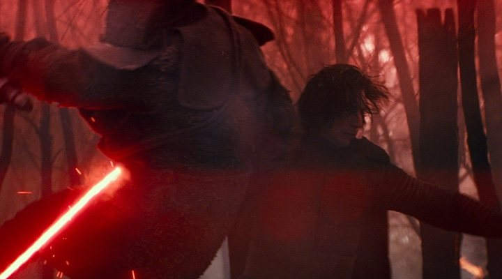 Adam Driver es Kylo Ren en 'Star Wars: El Ascenso de Skywalker'