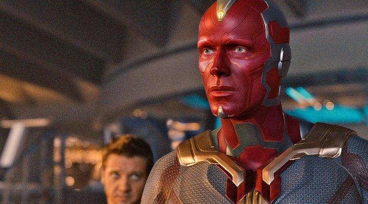 Paul Bettany como Vision en 'Vengadores: Infinity War'