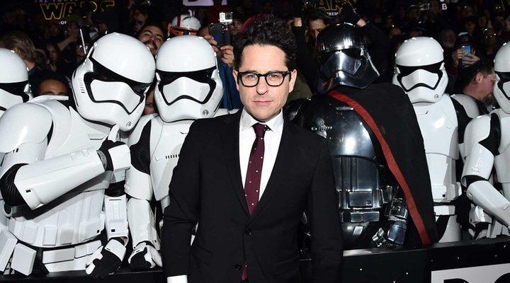 J.J. Abrams en la premiere de 'Star Wars: Episodio VII - El despertar de la fuerza'