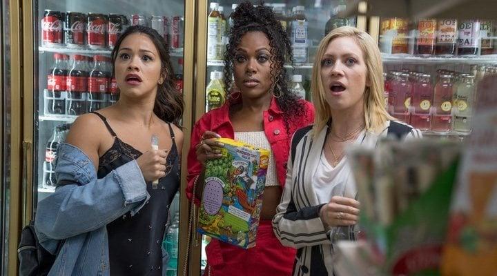 Gina Rodriguez, DeWanda Wise y Brittany Snow en 'Alguien especial'