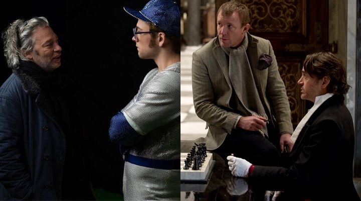 Dexter Fletcher y Guy Ritchie