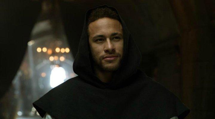 Neymar en 'La casa de papel'