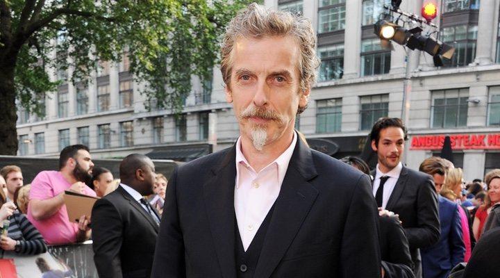 Peter Capaldi en el estreno de 'Guerra Mundial Z'