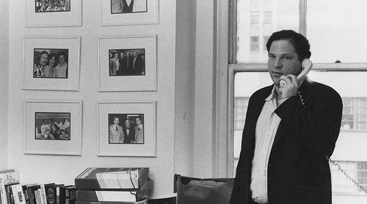 Harvey Weinstein en su despacho