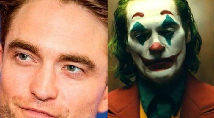 Robert Pattinson y Joaquin Phoenix como Joker
