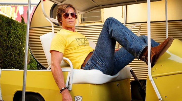 Brad Pitt en 'Érase una vez en Hollywood'