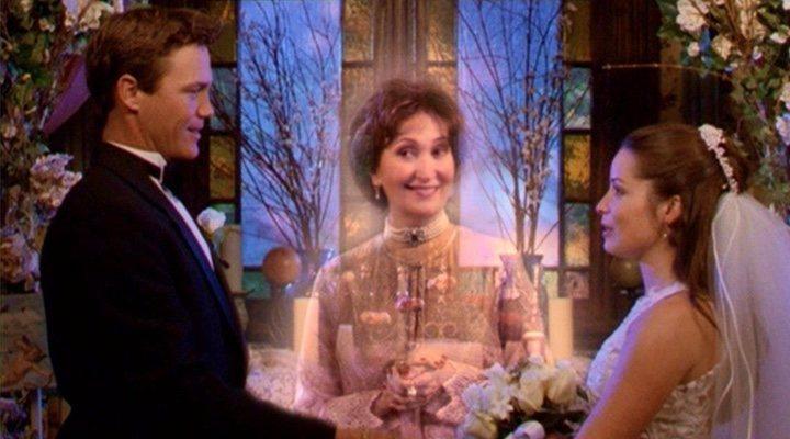 Holly Marie Combs y Brian Krause en 'Embrujadas'