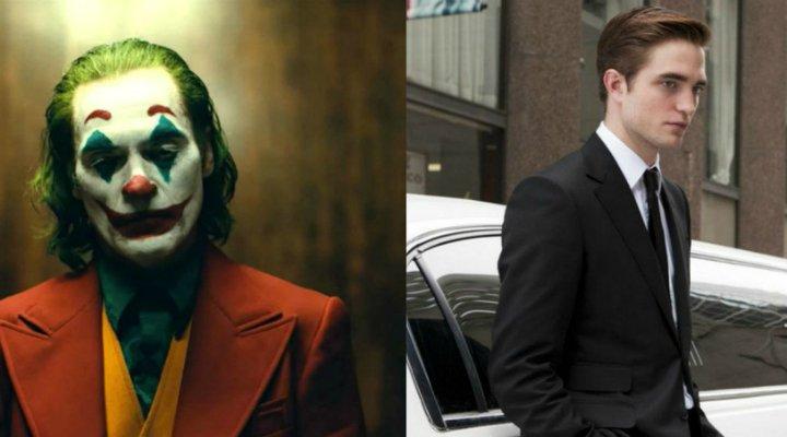 Joaquin Phoenix como Joker y Robert Pattinson