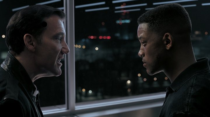 Clive Owen y Will Smith en 'Géminis'