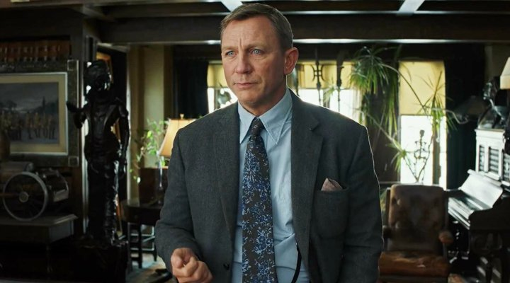 Daniel Craig en 'Puñales por la espalda'