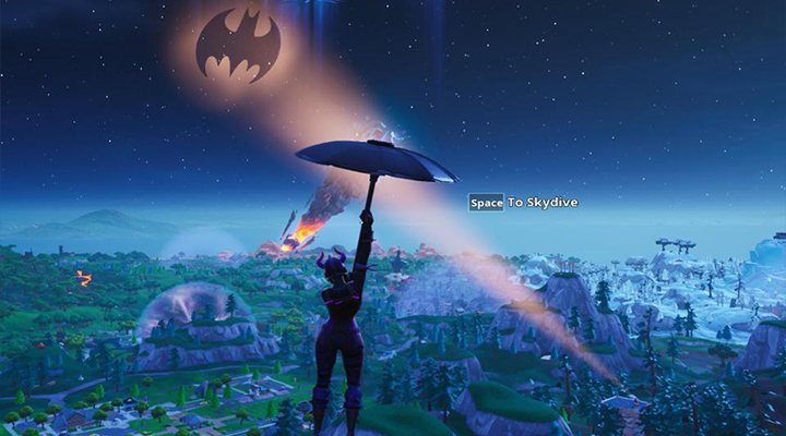 Batman en Fortnite