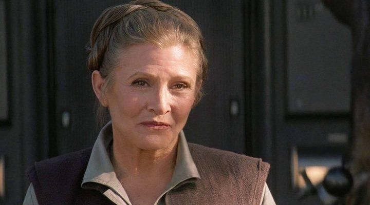 Princess Leia, interpretada por Carrie Fisher, aparecerá en 'Star Wars: El Ascenso de Skywalker'
