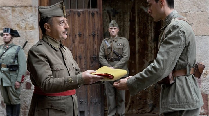 Franco en 'Mientras dure la guerra'